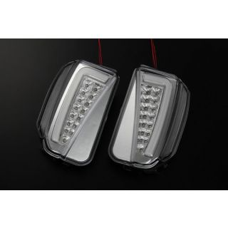 Toyota Prius (2012-2015) Revier - Clear LED Daytime Running Lights/Turn Signal Lamps Version 3