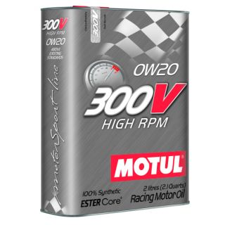 Motul 2L Synthetic-ester Racing Oil 300V HIGH RPM 0W20