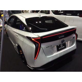 Rear Gate Garnish (smoke) with LED - Toyota Prius (2016 -2019)
