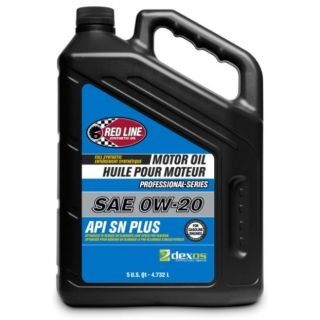 Red Line Pro-Series DEX1G2 SN+ 0W20 Motor Oil - 5 Quarts