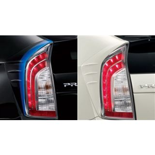 Modellista Rear Taillights Lamp Cover for Toyota Prius 2010 - 2015