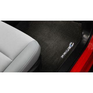 OEM Toyota Prius C - Carpet Floor Mats Gray (2012-2019)