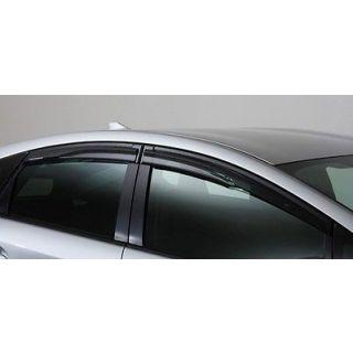 TOM's Door Wind Rain Visors - Front & Rear Toyota Prius (2010-2015) ZVW30/ZVW35