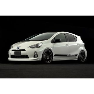 Side Spoiler for Toyota Prius C / Aqua  (Early Model)