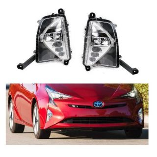 2016-2019 Toyota Prius, OEM-Spec High Power LED Assy as Daytime Running Lights & Fog Lights w/ Turn Signal Feature