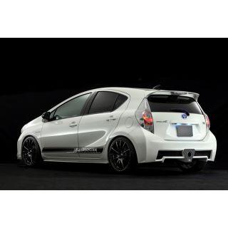 Rear Bumper Spoiler for Toyota Prius C / Aqua