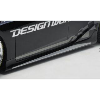 Design Works Side Skirt (FRP) for Toyota Prius Prime / PHV (ZVW52)