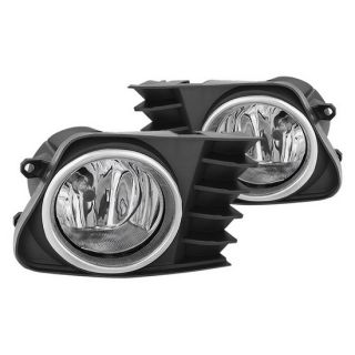 Clear Housing OEM Style Fog Lights for Toyota Prius V  2012 - 2017