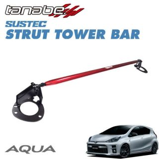 Tanabe Sustec Front Strut Tower Bar for Toyota Prius C