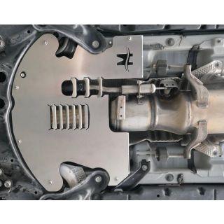 Stainless Steel MILLERCAT 2010-2015 Prius Gen 3 Cat Shield