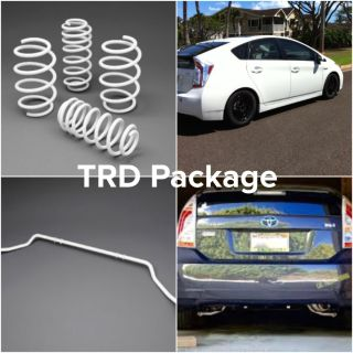 Toyota OEM - Prius PLUS Suspension Package Toyota Prius (2010-2015)