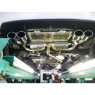 Suruga Speed LEXUS CT200h PFS Loop Sound Muffler Set Oval Tail (100 × 75) 4 left and right