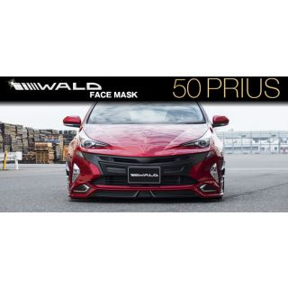 Wald Sports Line Front Bumper Face Mask For  Toyota Prius (2016 - 2019)