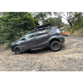 off roading  1.5″ Front and Rear Lift Kit essential for Prius C, YARIS, XD, IQ