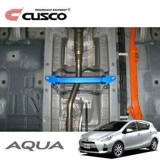 JDM 2012 Cusco 949 492 C Power brace Floor center Toyota Prius c Aqua NHP10.