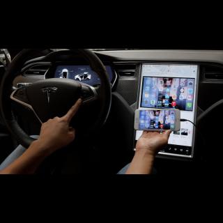 Tesla Model S and X Smartphone Mirroring Kit