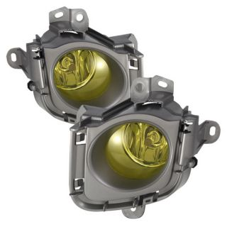 Yellow Housing OEM Style Fog Lights for Toyota Prius 2010 - 2011