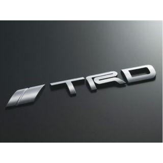 TRD Japan Rear Emblem Chrome
