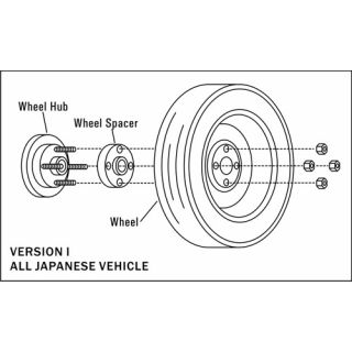 12MM Ichiba Wheel Spacers - Toyota Prius C (2012-2019) *4x100*