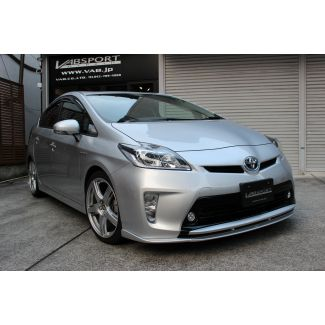 Vab Sports Front Lip Spoiler for Toyota Prius 2012 - 2015